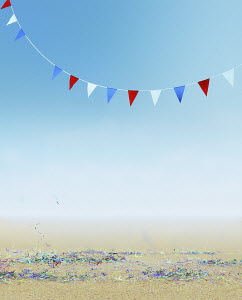 Party streamers and bunting