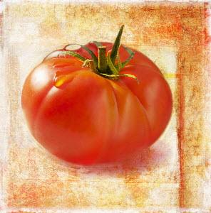 Close up of ripe tomato