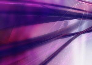 Abstract image of purple streaks