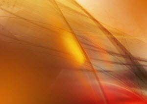 Abstract image of yellow lines