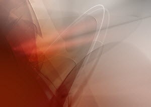 Abstract image of red and gray lines and lights