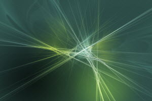 Abstract glowing crisscrossing lines