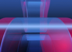 Abstract full frame shiny blue and pink backgrounds pattern