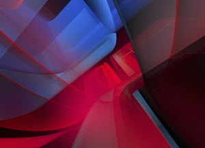 Abstract full frame red and blue backgrounds pattern