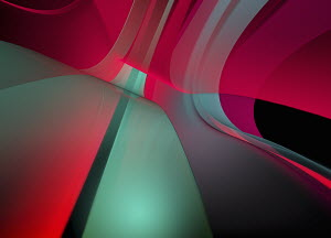 Abstract full frame red and green backgrounds pattern