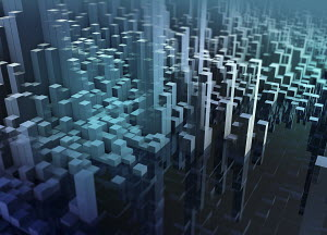 Abstract three dimensional city