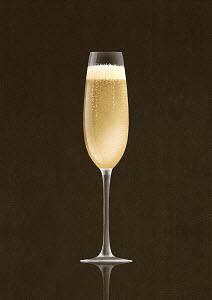 Champagne in champagne flute