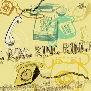 Landline phones ringing