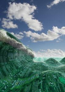 Circuit board wave