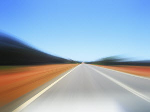 Defocused road
