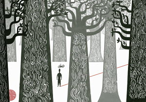 Man lost in woods