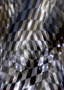 Abstract distorted checked tile pattern - Abstract distorted checked tile pattern
