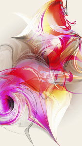 Pink swirling abstract