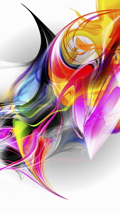Bright multicolored abstract