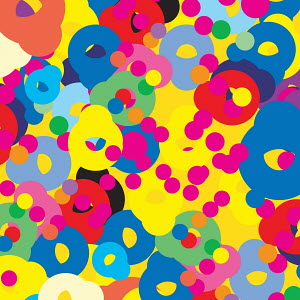 Abstract backgrounds pattern of multicolored dots and circles