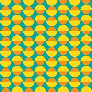 Abstract backgrounds pattern of rows of semi-circles