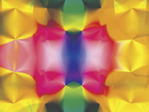 Abstract multicolored defocussed symmetrical backgrounds pattern