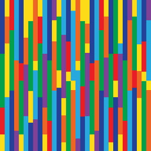 Abstract backgrounds pattern of multicolored stripes