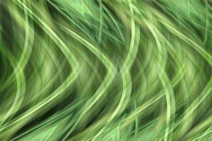 Wavy crisscross green abstract