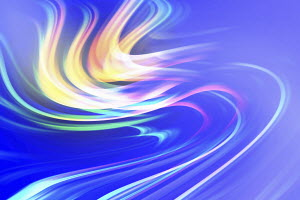 Full frame abstract swirling wave pattern