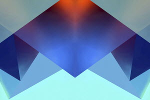 Abstract backgrounds pattern of symmetrical geometric shapes