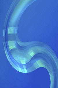 Abstract backgrounds blue curve pattern