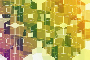 Abstract full frame three dimensional geometric backgrounds pattern
