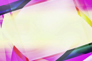 Multicolored abstract blank frame