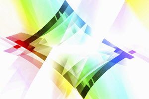 Abstract backgrounds pattern of multicolored translucent diamond shapes