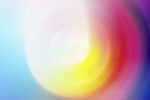 Abstract backgrounds pattern of multicolored concentric circles