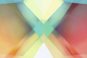 Abstract full frame crisscross pattern