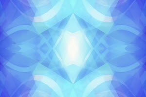 Abstract backgrounds symmetrical pattern of multi-layered translucent shapes