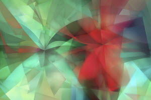 Full frame green and red abstract backgrounds pattern