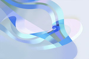 Abstract backgrounds pattern of overlapping flowing stripes