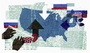 Russian cyber attack on the United States