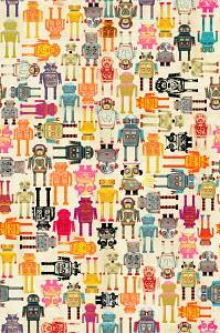 Full frame robot pattern