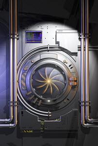 Closed vault hatch