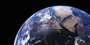 East Africa, the Middle East and the Arabian Sea from space