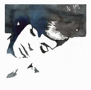 Close up of face of sleeping woman