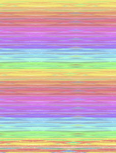 Full frame pastel color striped rainbow pattern