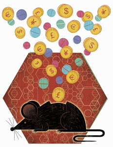 Global currency coins investing in animal research and medicine