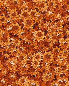 Full frame flower arrangement of orange lotus