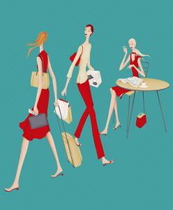 Successful and aspiring businesswomen