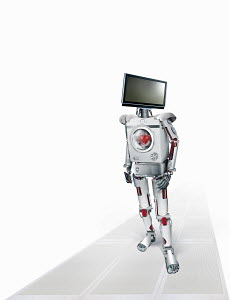 Robot of intelligent domestic appliances