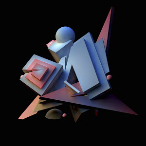 Unstable three dimensional structure