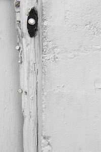 Wall and doorbell