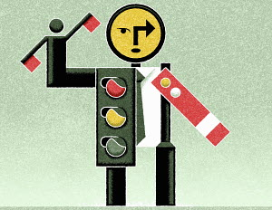 Stop signal figure