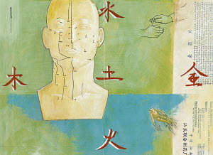 Collage on Traditional Chinese medicine