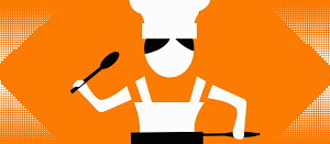 Pictogram of a chef