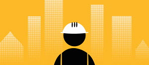 Pictogram of an engineer